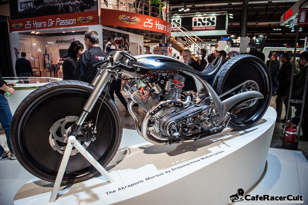 """The Akrapovic Morsus by Dreamachine Motorcycles"""