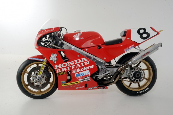 Carl Fogarty's 1989 Honda Britain RC30.